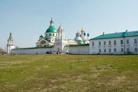 Old churches in Rostov-Velikiy, Russia