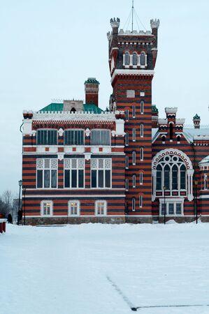 Earl Sheremetev palace in Jurino village, Marij El republik, Russia
