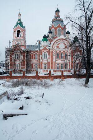 Mikhail Arkhangel temple in Jurino village, Marij El republik, Russia