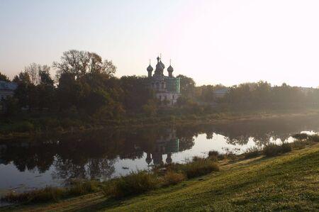 reverential: Vecchia chiesa in muratura Vologda, Russia Archivio Fotografico
