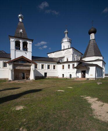 reverent: Little monastery in Ferapontovo, Russia