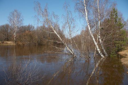 Uzola rivier, Nizhegorodskaya gebied, Rusland