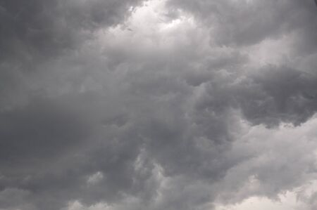 Stormy, cloudy sky as background