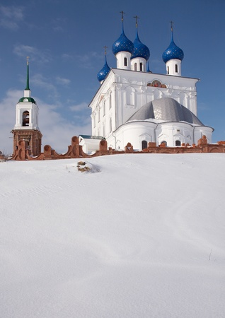 Church of the Nativity of the Blessed Virgin Mary in Katunki, Nizhegorodskaya area, Russia