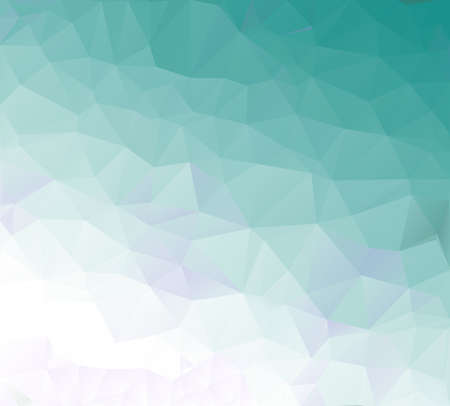 Soft Green Abstract Low Poly Geometric Gradient Polygonal Background Vector Illustration