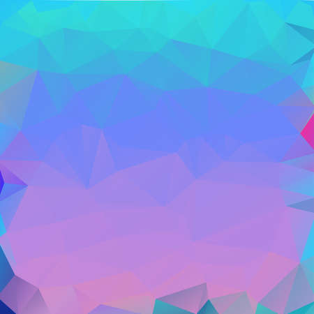 Light Blue Abstract Low Poly Geometric Gradient Polygonal Background Vector Illustration