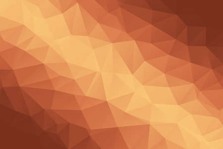 Bronze Abstract Low Poly Gradient Polygonal Background Vector Illustration