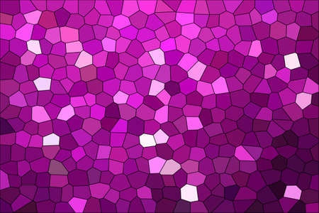 Abstract Violet & Purple Shades Modern Mosaic Tiles Material Texture Background