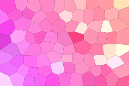 Abstract Pink Shades Modern Mosaic Tiles Material Texture Background
