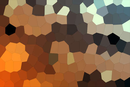 Abstract Golden Brown & Grey Shades Modern Mosaic Tiles Material Texture Background