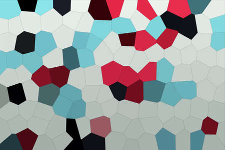 Abstract Cool Colors Mosaic Tiles Material Texture Wallpaper Background Stok Fotoğraf
