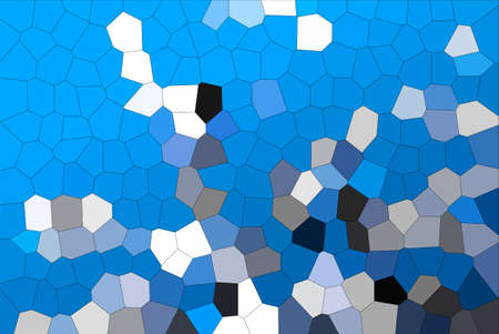 Abstract Modern Blue Crystallize Mosaic Tiles Material Texture Background