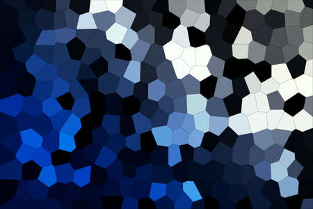 Abstract Blue White & Grey Shades Modern Mosaic Tiles Material Texture Background