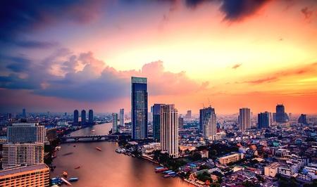 tonight: Tonight at Bangkok Stock Photo