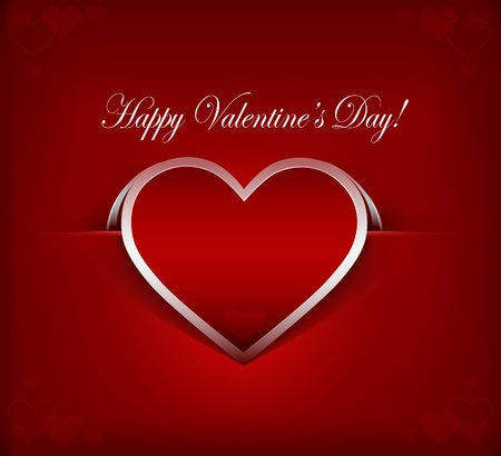 Vector illustration of Valentine Stock Vector - 12411227
