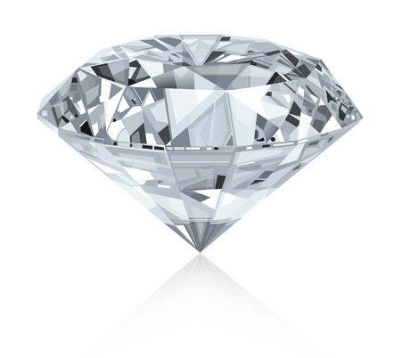 Classic and realistic diamond