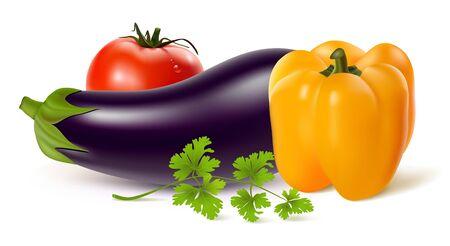 illustration of vegetables Çizim
