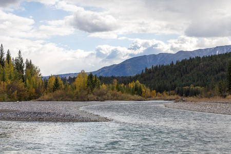Toby Creek as seen near Invermere BC.