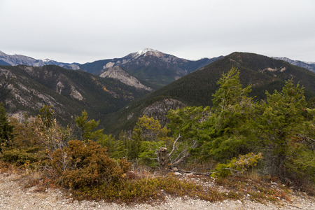 View from the summit of Mt. Swansea.