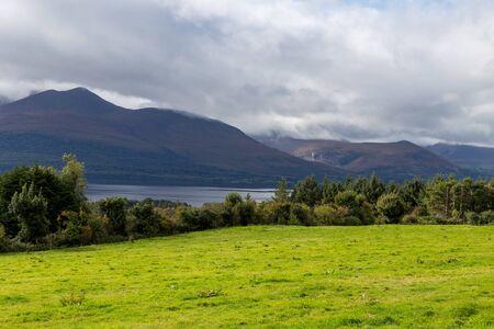View of Lough Leane in Killarney National Park Stok Fotoğraf