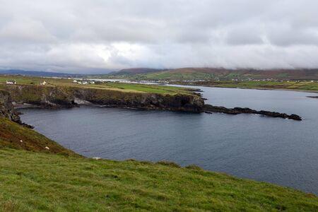 A wide shot of the Cliffs of Kerry Stok Fotoğraf
