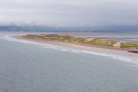 Sandbar in the Atlantic Ocean Ireland