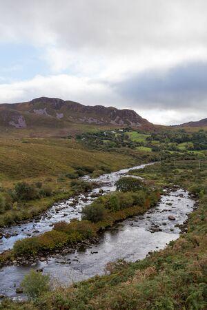 A river in the Irish mountains. Stok Fotoğraf