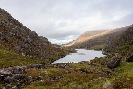 A lake in Dunloe Pass Stok Fotoğraf