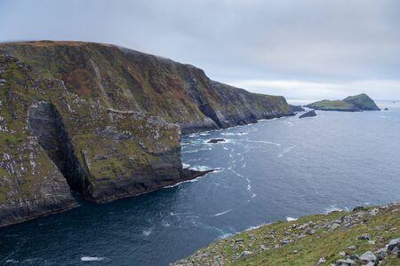 The Cliffs in the Ocean Stok Fotoğraf