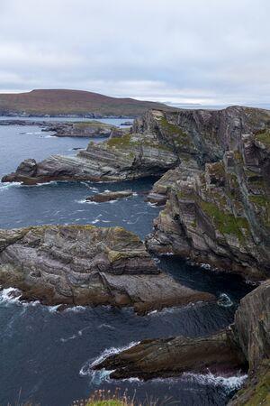 Ocean at Cliffs of Kerry