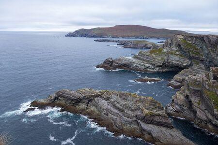 Cliffs at the ocean Stok Fotoğraf