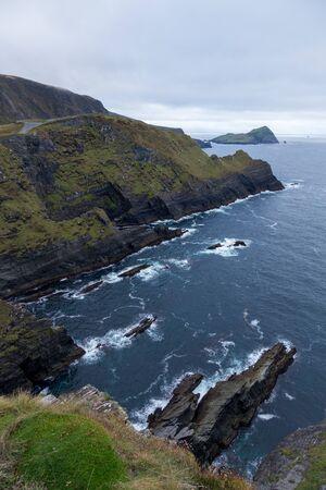 Cliffs of Kerry in Ireland