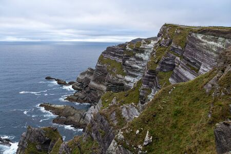 The Cliffs of Kerry close up
