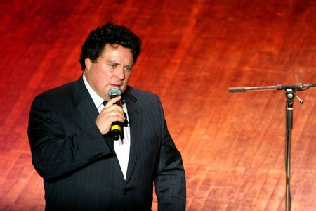 comedian:  Vancouver, British Columbia, Canada – January 30, 2010 - Sean Cullen, comedian, performing his act at
