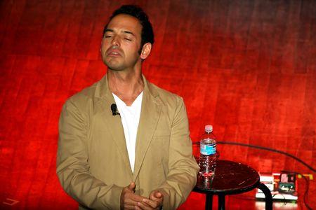 comedian: Vancouver, British Columbia, Canada – January 30, 2010  - Sean Majumder, comedian, performing his act at