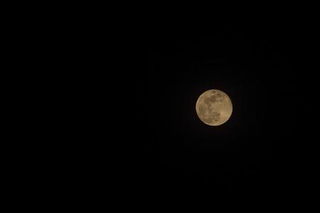 The moon seen from rural Uganda