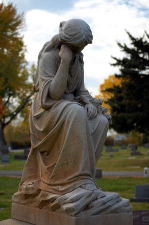 introspective: Lady Statue