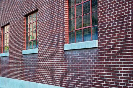 Bricks and Windows Фото со стока