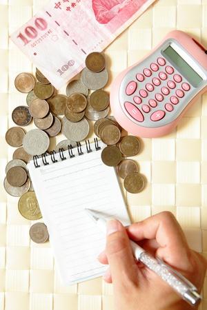 registros contables: Calcular el dinero