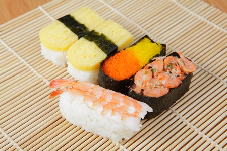 delicious japan sushi  Stock Photo - 10778941