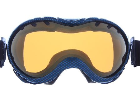fashion blue ski goggles  photo