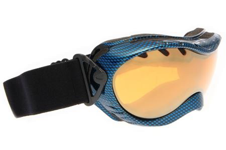 fashion blue ski goggles Stock Photo - 10765471