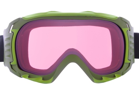 protective spectacles: Cool ,fashion, and functional green ski goggles