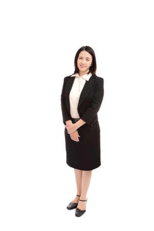 potrait: potrait of  business  woman Stock Photo