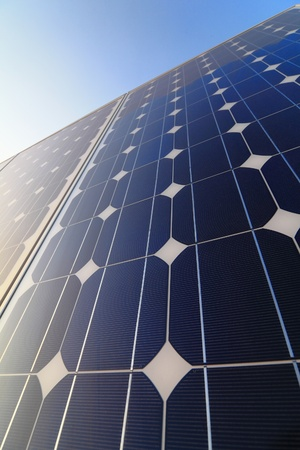 Solar cell battery panel detail and close-up Stock Photo - 11059879
