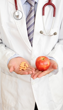 Apple or medicine, your choice! photo