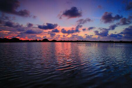 Beautiful sunset reflection Stock Photo - 11146032