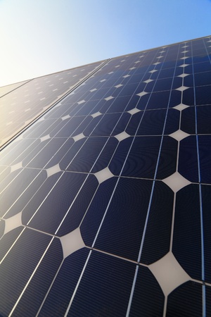 Solar cell battery panel detail and close-up Stock Photo - 11189122