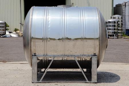 tanque de combustible: acero agua de la torre tanque