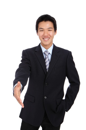 Young Business man handshake photo